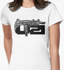 Uzi Women's Fitted T-Shirt