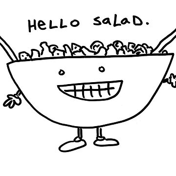 Hello Salad by squeaktoy