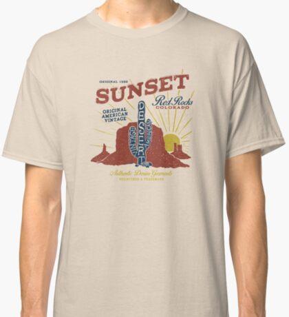 Red Rocks Colorado Vintage Classic T-Shirt