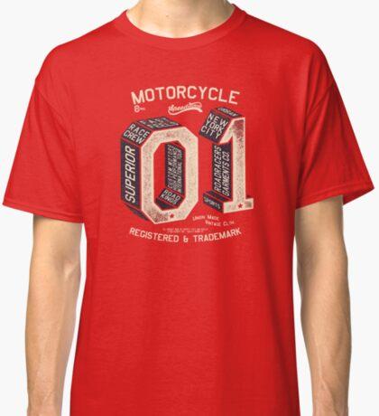 Motorcycle 01 New York Classic T-Shirt