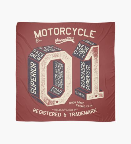 Motorcycle 01 New York Scarf