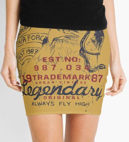 Legendary Air Force Eagle Mini Skirt