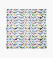 Dala Pferde Muster - schwedische Volks Design Tuch