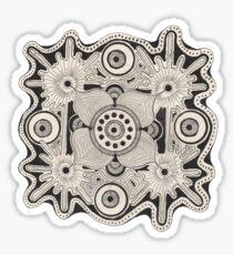 Leukomelanophobia (04) Sticker