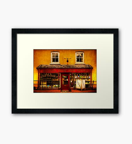 Bookshop Framed Print