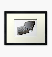 Nokia E90 Framed Print