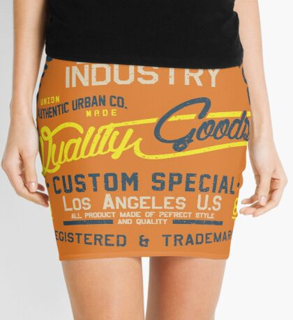 Los Angeles Original 1987 Mini Skirt