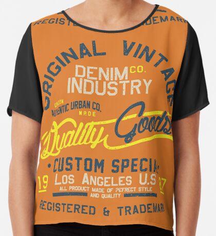 Los Angeles Original 1987 Chiffon Top