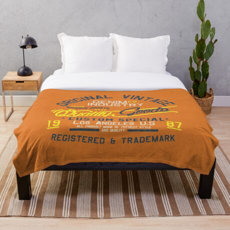 Los Angeles Original 1987 Throw Blanket