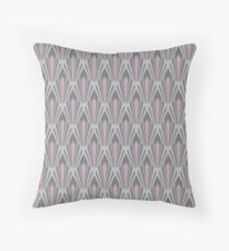 Purple stone Throw Pillow