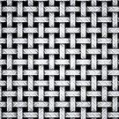 Metallwebart-Muster auf Schwarzem von MarkUK97