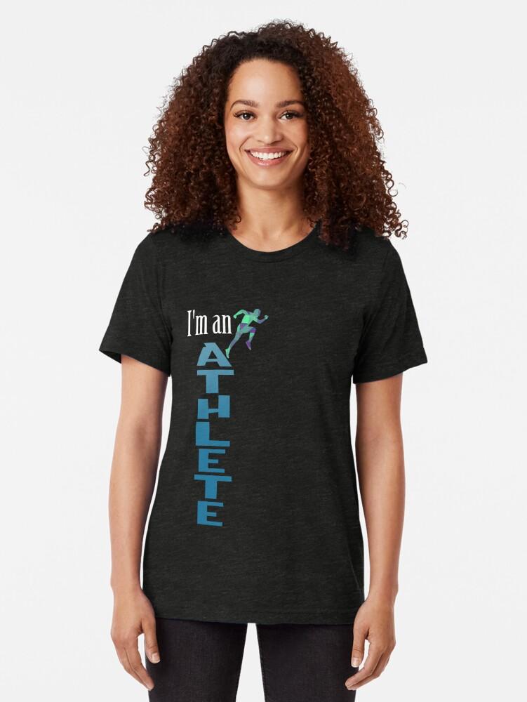 Alternative Ansicht von Athlete Sport Vintage T-Shirt