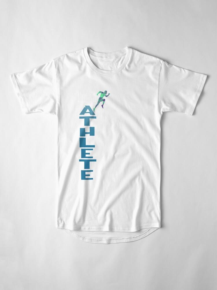Alternative Ansicht von Athlete Sport Longshirt