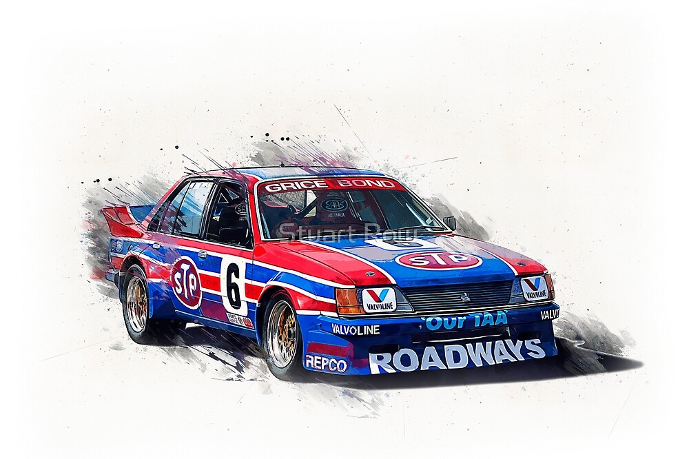 Allan Grice Group C Commodore by Stuart Row