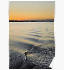 Sun Down on Pumicestone Passage Poster