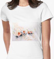 Dancing Daffodils Fitted T-Shirt