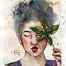 Little witch #2 by Yana Art