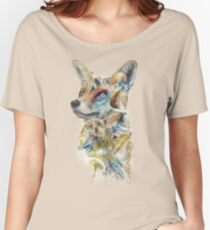 Heroes of Lylat Starfox Inspired Classy Geek Painting Women's Relaxed Fit T-Shirt