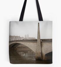 Misty Village - Chalon Sur Saone Tote Bag
