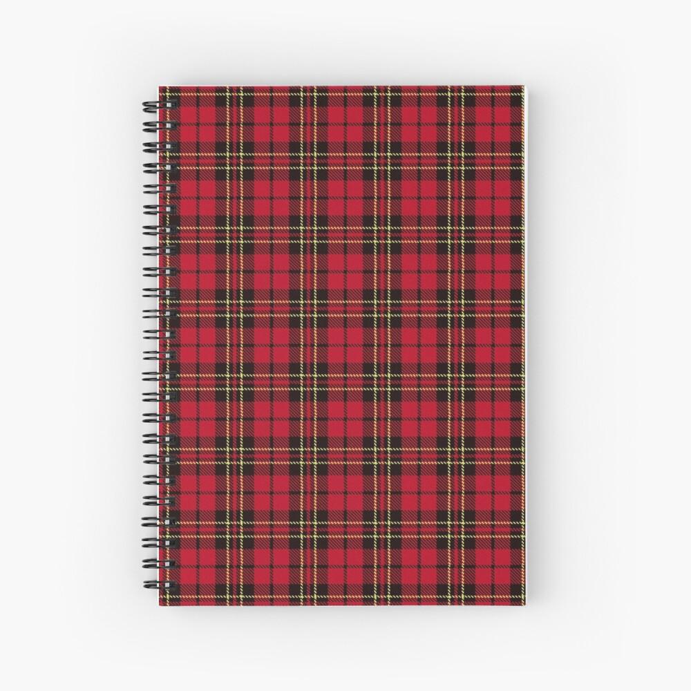 Brodie tartan clan scotland Spiral Notebook