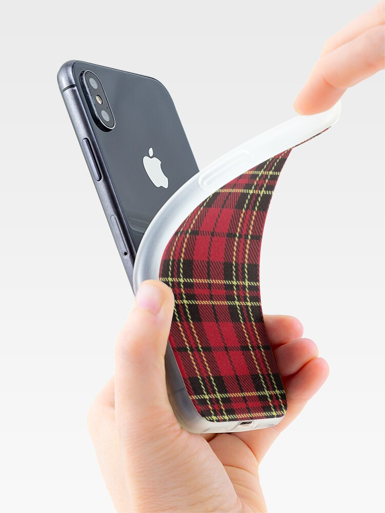 Alternate view of Brodie tartan clan scotland iPhone Case & Cover