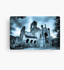 Kirkstall Abbey Leinwanddruck
