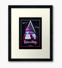 Rick and Morty - Nitro Overdrive Framed Print