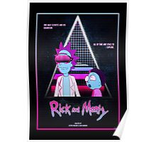 Rick and Morty - Nitro Overdrive Poster