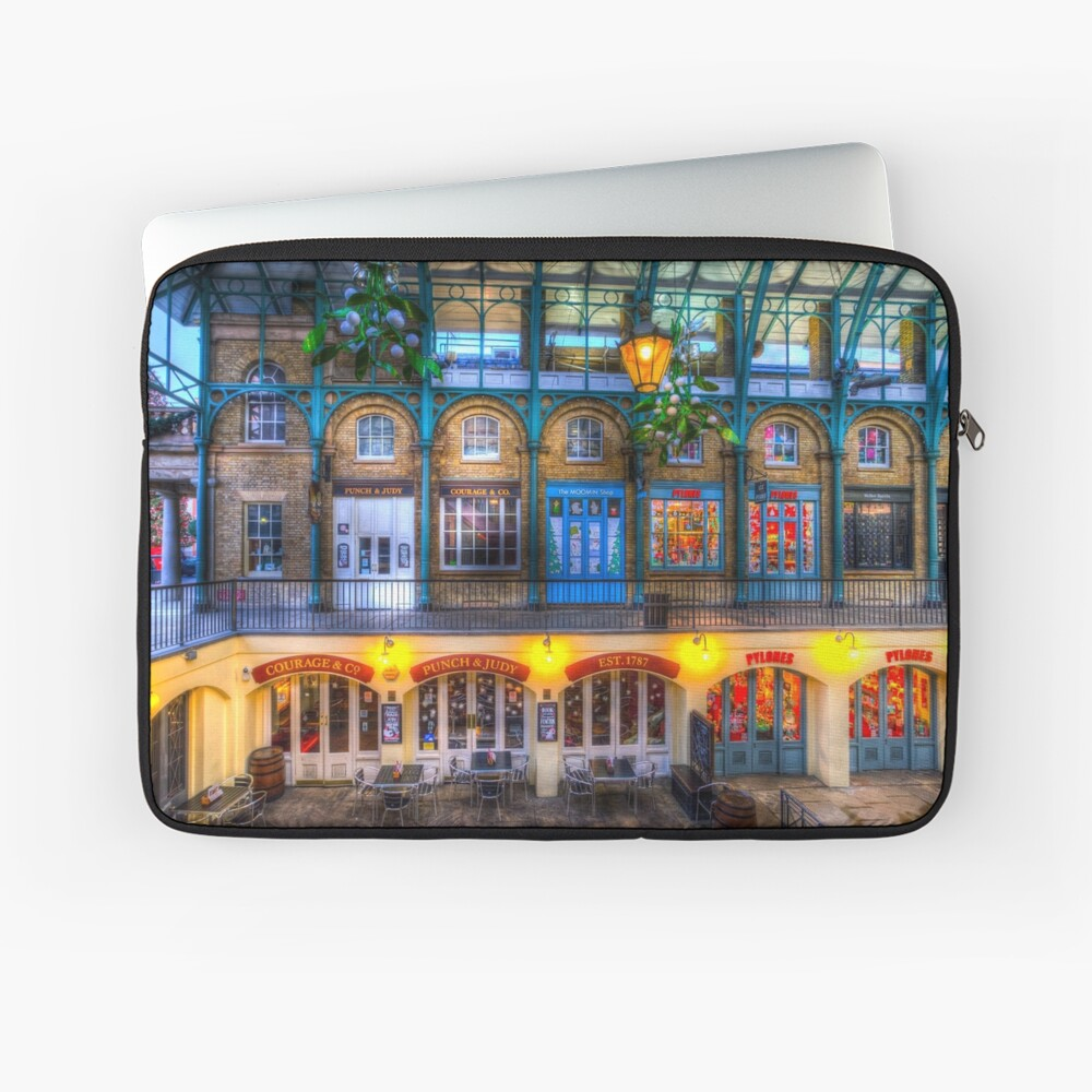 Der Schlag und Judy Pub Covent Garden Laptoptasche