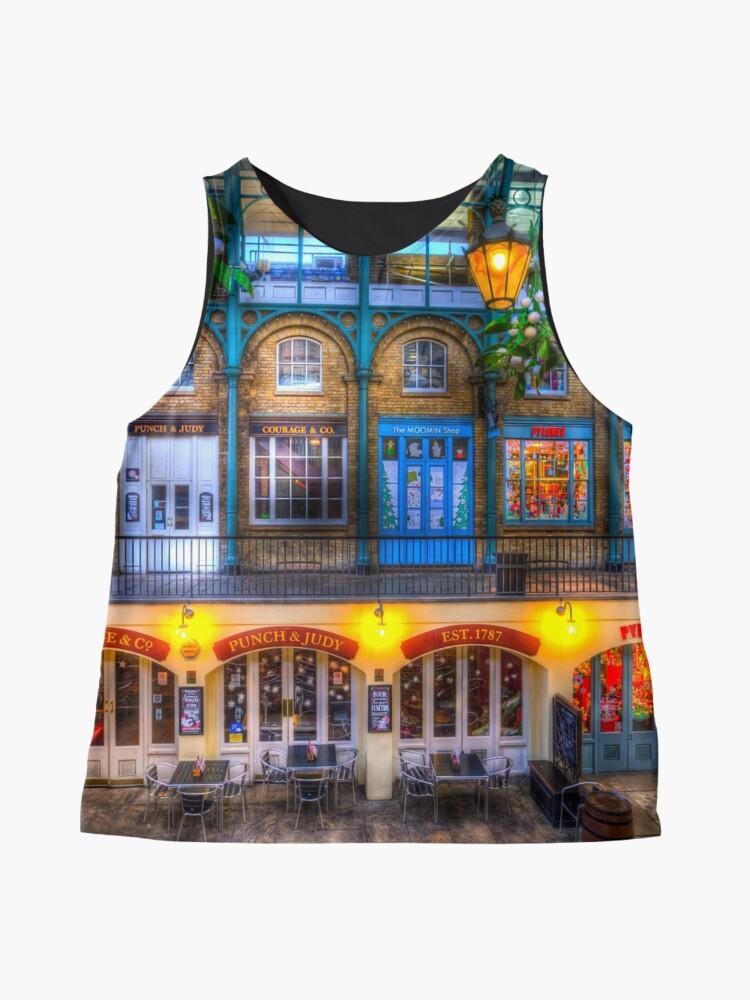Alternative Ansicht von Der Schlag und Judy Pub Covent Garden Ärmelloses Top