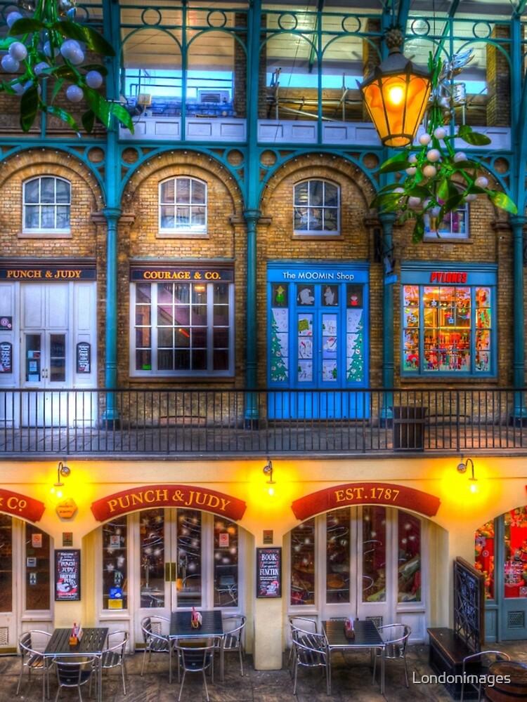 Der Schlag und Judy Pub Covent Garden von Londonimages
