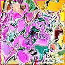 (  SCREW )  ERIC WHITEMAN  ART  by eric  whiteman