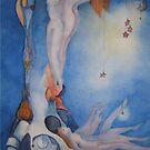 Hanging the stars by Ellen Keagy