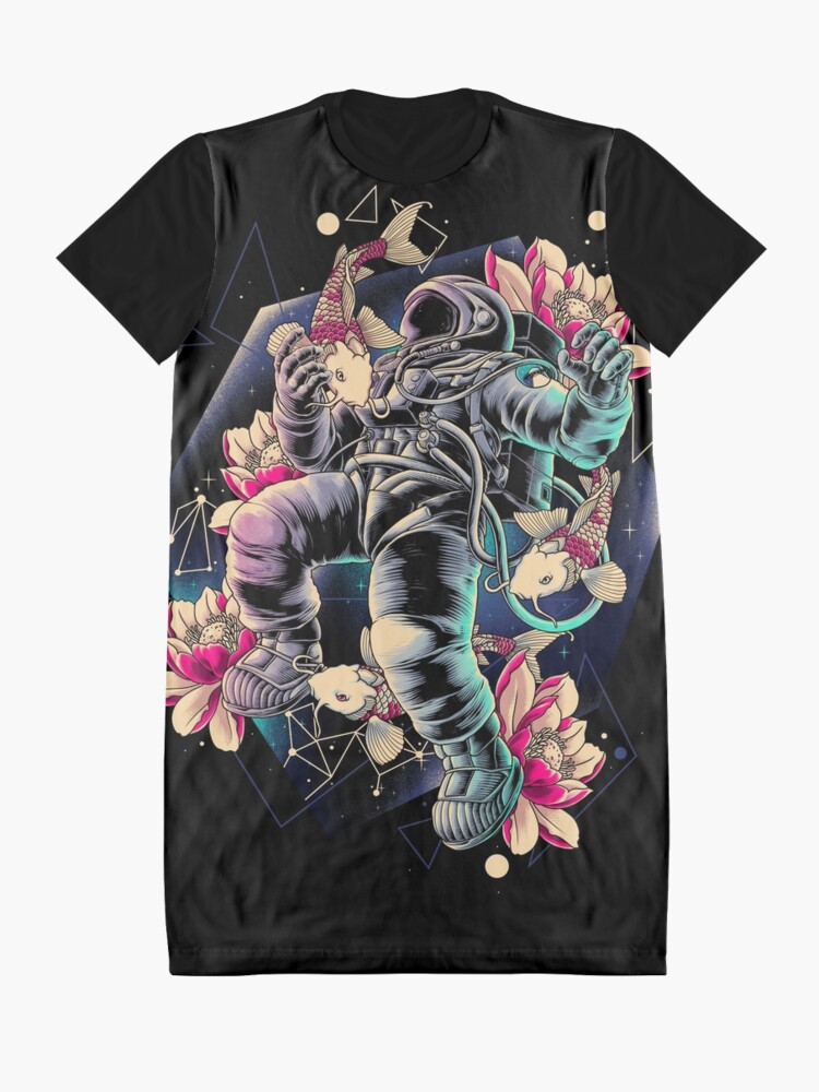 Alternate view of Deep Space Graphic T-Shirt Dress