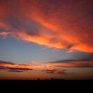 West Texas sunset by Travis Niebuhr