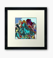 ( DREAM )  ERIC WHITEMAN  ART  Framed Print