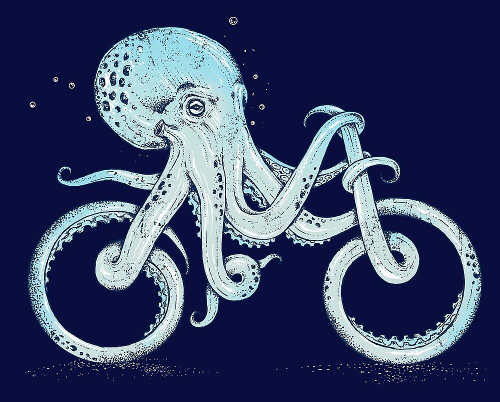 Oktopus-Fahrrad von ALAN MAIA