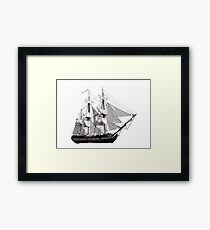 HMS Surprise Framed Print