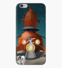 Hannah goes to the Moon iPhone Case