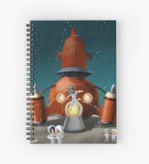 Hannah goes to the Moon Spiral Notebook