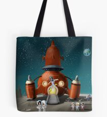 Hannah goes to the Moon Tote Bag