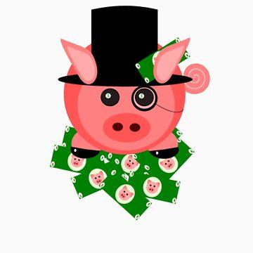 Capitalist Piglet by fishcakefillet