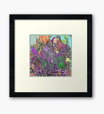 (ANGER OCEAN  )   ERIC  WHITEMAN  ART Framed Print