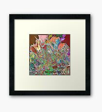 ( ANGER )  ERIC  WHITEMAN  ART   Framed Print