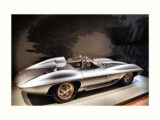 1959 Chevrolet Corvette Stingray Concept Racer Art Prints By Donald