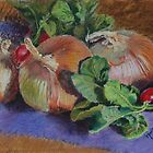 Onions n Radishes by Janet Rawlings