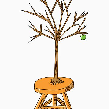 Wacky Design - Tree-stool by SeanCuddy