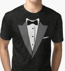 Casual Tuxedo Tri-blend T-Shirt