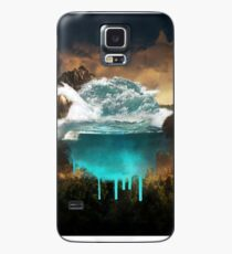 Elements collide. Case/Skin for Samsung Galaxy