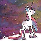 Beautiful Bi Unicorn by Claire Faas
